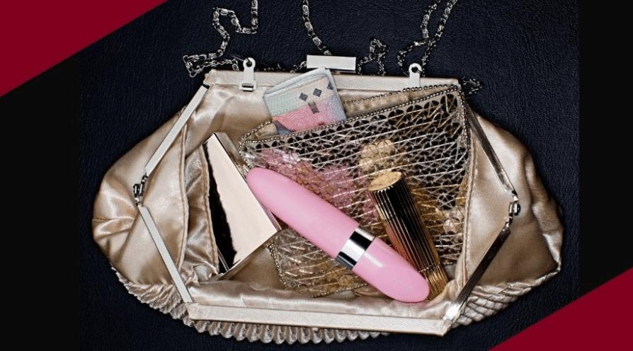 stimulator in handbag