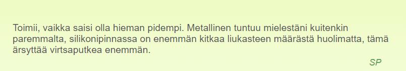 Men´s Dilator - Moottoroitu, silikoninen