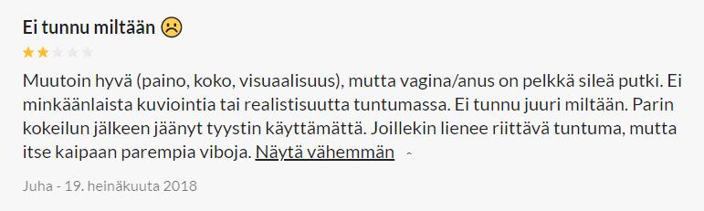 Oxana Pussy and Ass Masturbaattori