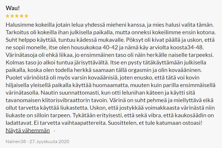Sinful Ladattava Kauko-ohjattava Alushousuvibraattori