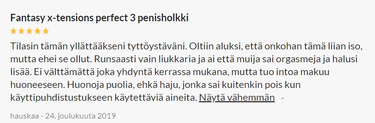 Fantasy X-tensions Perfect 3 Extension Penisholkki