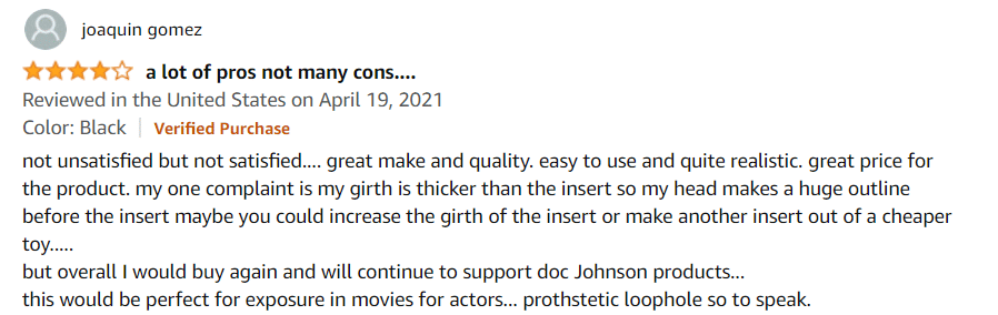 Doc Johnson Xtend It Penisholkki