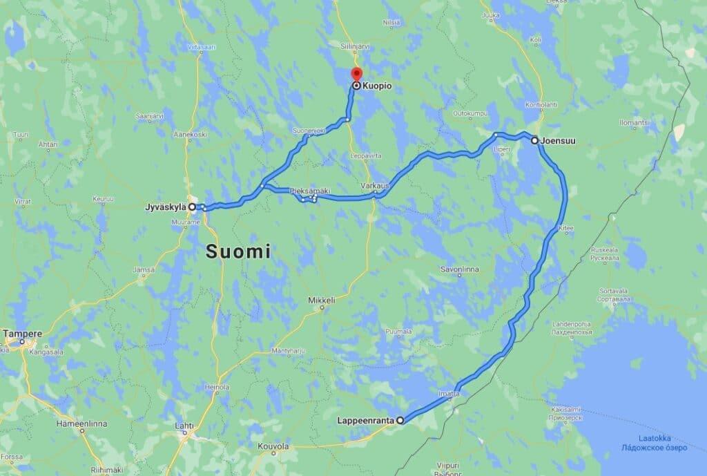 Seksikauppa Joensuu map