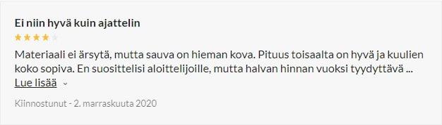 Musta Anaalisauva Kuulilla review 1