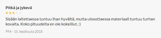 Musta Anaalisauva Kuulilla review 3