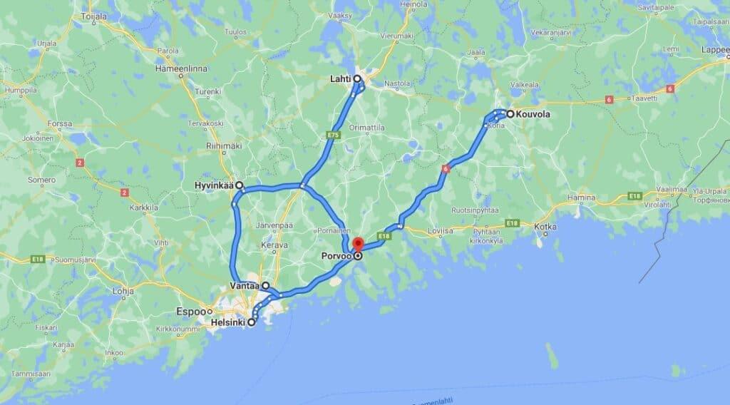 Seksikauppa Porvoo Map