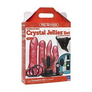 Vac-U-Lock - Vibrating crystal jellies set 1